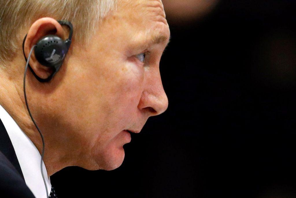 FOTO:Putin zaskrbljen nad uvedbo vojnih razmer v Ukrajini