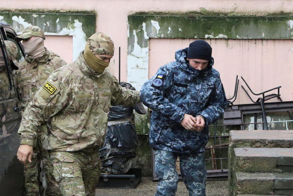 Sodišče na Krimu odredilo pripor za ukrajinske mornarje