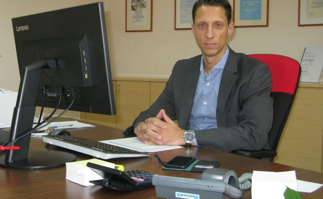 Denis Tomše, direktor ZD Trbovlje, je KPK z magnetogramom dokazoval nedolžnost. Foto Polona Malovrh