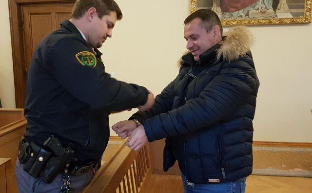 Darko Ahčin bo v zaporu sedel 5 let. FOTO: Tanja jakše Gazvoda