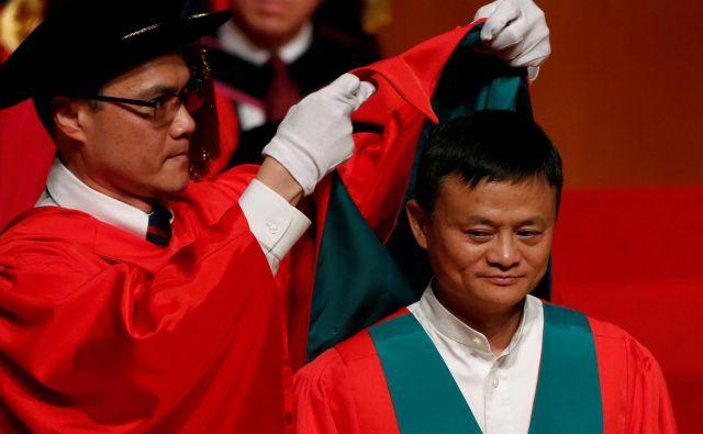 Ustanovitelj Alibabe Jack Ma. FOTO: Bobby Yip/Reuters