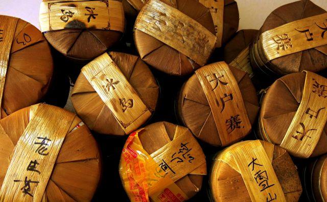 Puer je edini med čaji, ki z leti kvaliteto dobiva.  Foto Igor Bratož