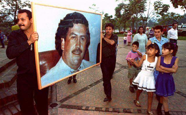 Pablo Escobar za marsikoga v Kolumbiji ostaja junak. FOTO: Reuters