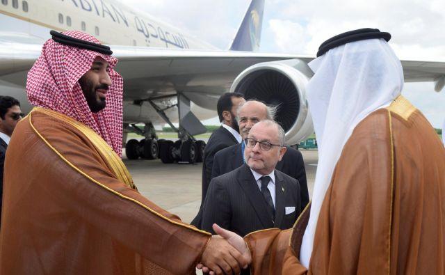 Na vrhu bo pod drobnogledom javnosti tudi savdski prestolonaslednik Mohamed bin Salman in tisti njegovi kolegi, ki se bodo drznili pogovarjati z njim. FOTO: Reuters
