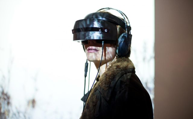 V MSUM se lahko prepustite virtualni izkušnji. Foto Katja Goljat
