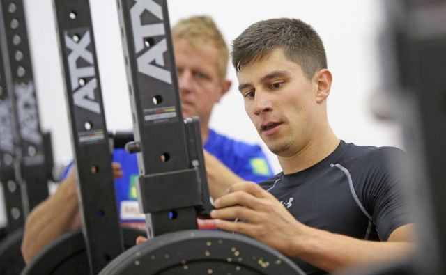 Žan Kranjec naj bi bil v tej sezoni najmočnejše orožje slovenske moške reprezentance. V svoji paradni disciplini se bo predstavil v nedeljo. FOTO: Tadej Regent/Delo