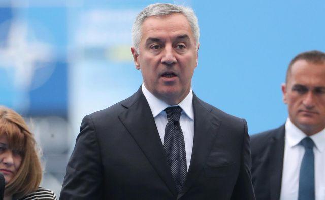 Črnogorskega predsednika Mila Đukanovića praznovanje srbske aneksije Črne gore še pred nedavnim ni motilo. FOTO: Reuters