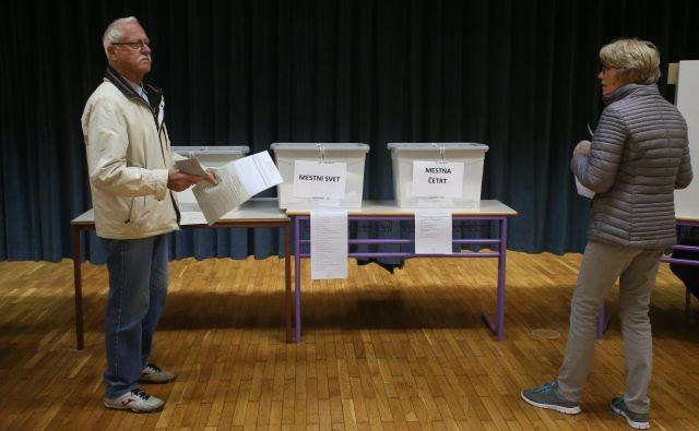 Lokalne volitve, Maribor FOTO: Tadej Regent/Delo