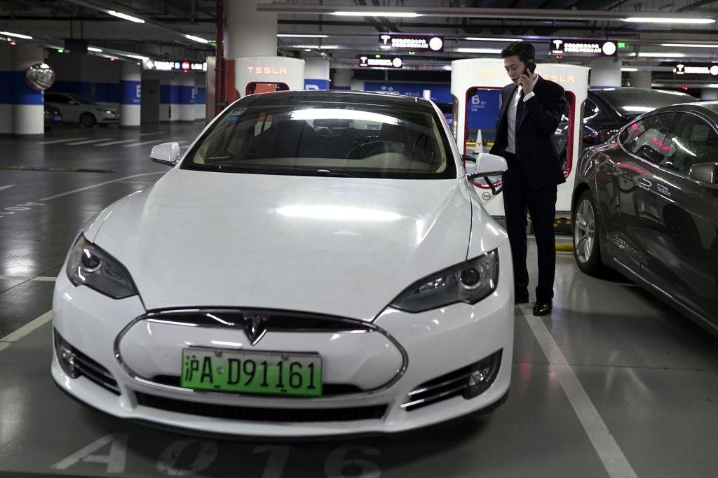 Kitajska ve, kje vozite Tesle