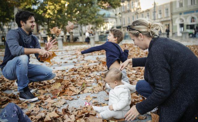 Po službi je čas za družino in sprostitev. FOTO Uroš Hočevar/Delo
