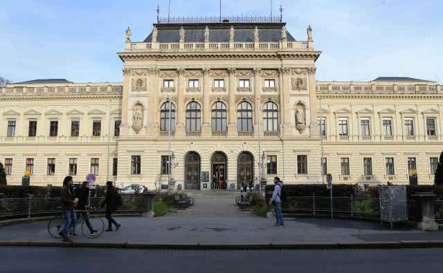 Univerza v Grazu je priljubljena študentska destinacija. FOTO Tadej Regent/Delo