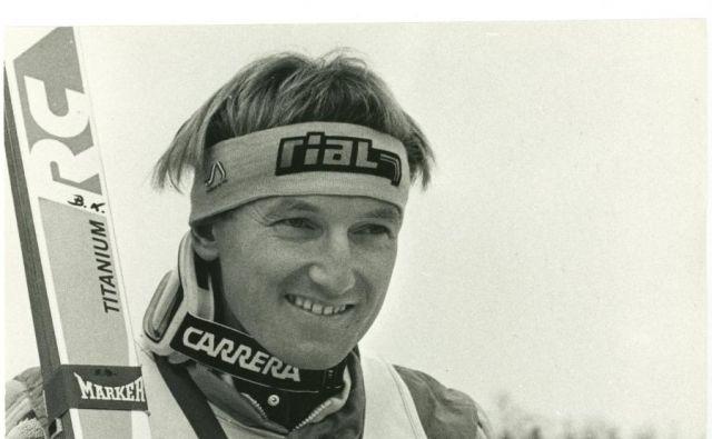 Bojan Križaj s slalomskim kristalnim globusom. FOTO: arhiv Bojana Križaja
