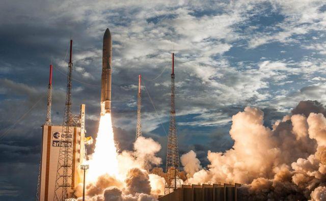 Nemo HD bo poletel na krovu Vege iz Francoske Gvajane. Foto Arianespace