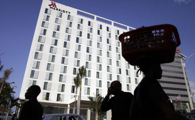 Marriott International je po prevzemu verige Starwood, ki vključuje hotele W hotels, Sheraton, Le Meridien in Four Points by Sheraton, leta 2016 postal največja hotelska veriga na svetu z več kot 5800 nepremičninami. FOTO: Andres Martinez Casares/Reuters
