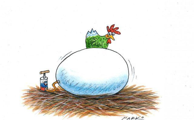 Karikatira: Marko Kočevar
