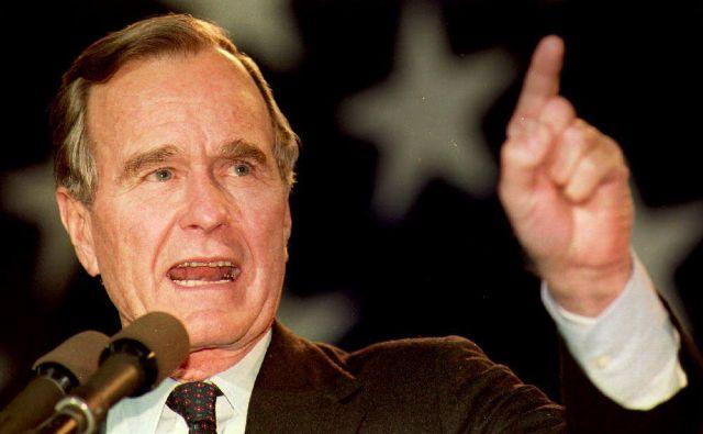 George Bush starejši je pred nastopom mandata veljal za najbolje pripravljenega predsednika v zgodovini ZDA. FOTO: AFP