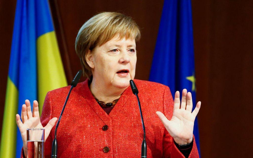 Zasilni pristanek Angele Merkel