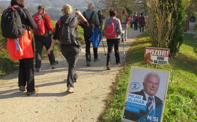 Milanu Izlakarju (NSi) ni uspelo premagati aktualnega župana Rajka Meserka v občini Šmartno pri Litiji. FOTO: Bojan Rajšek