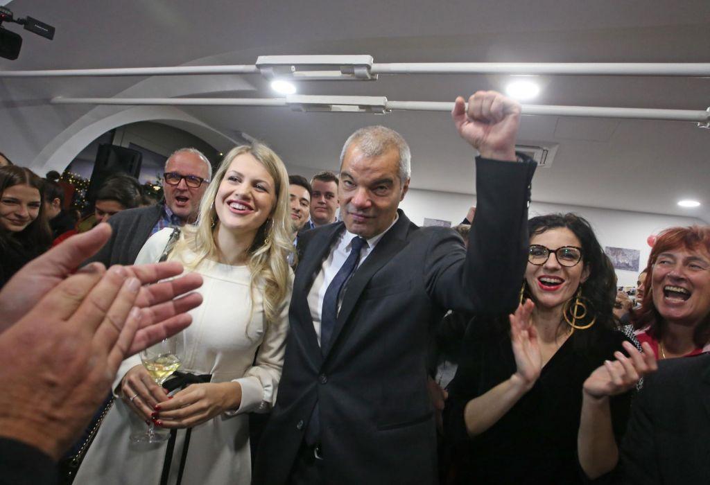 FOTO:Arsenovič: Zahvala Mariborčanom, ki verjamejo v boljši jutri