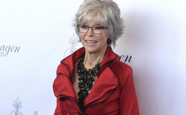 Rita Moreno bo nastopila v Spielbergovi verziji <em>Zgodbe z zahodne strani</em>.<br /> FOTO: AP