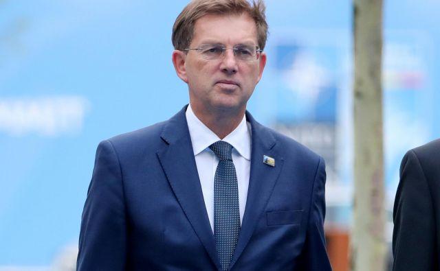 Zunanji minister Miro Cerar se bo mudi na delovnem obisku v Berlinu. Foto: Reuters