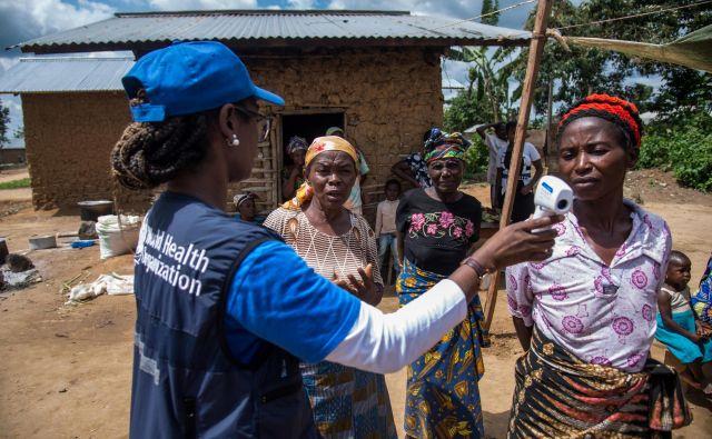 K hitri širitvi virusa je pripomoglo tudi nezaupanje lokalnega prebivalstva mednarodnim humanitarnim in nevladnim organizacijam. Foto Reuters