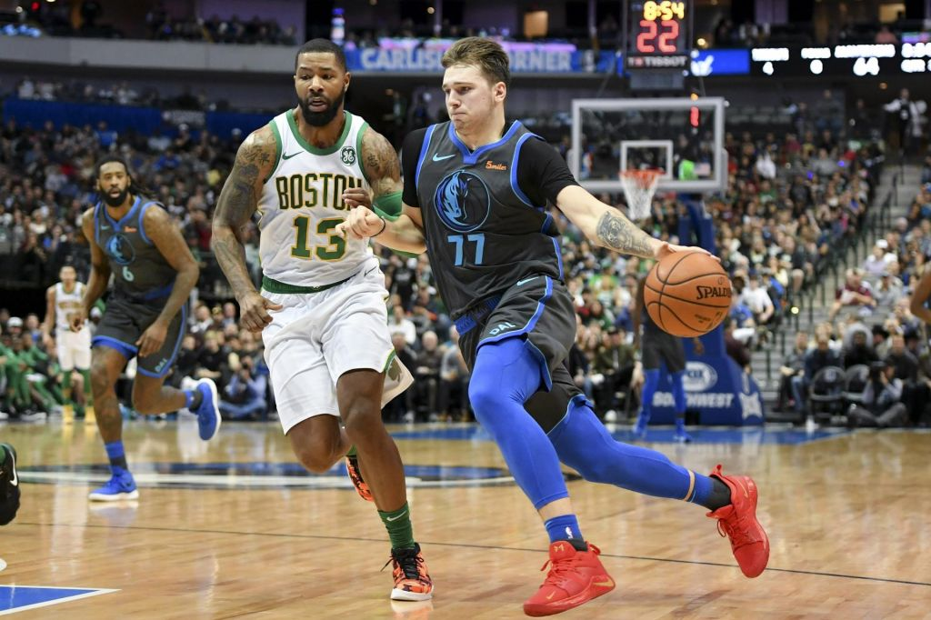 Dončić poškodovan, Dallas pa vseeno do zmage (VIDEO)