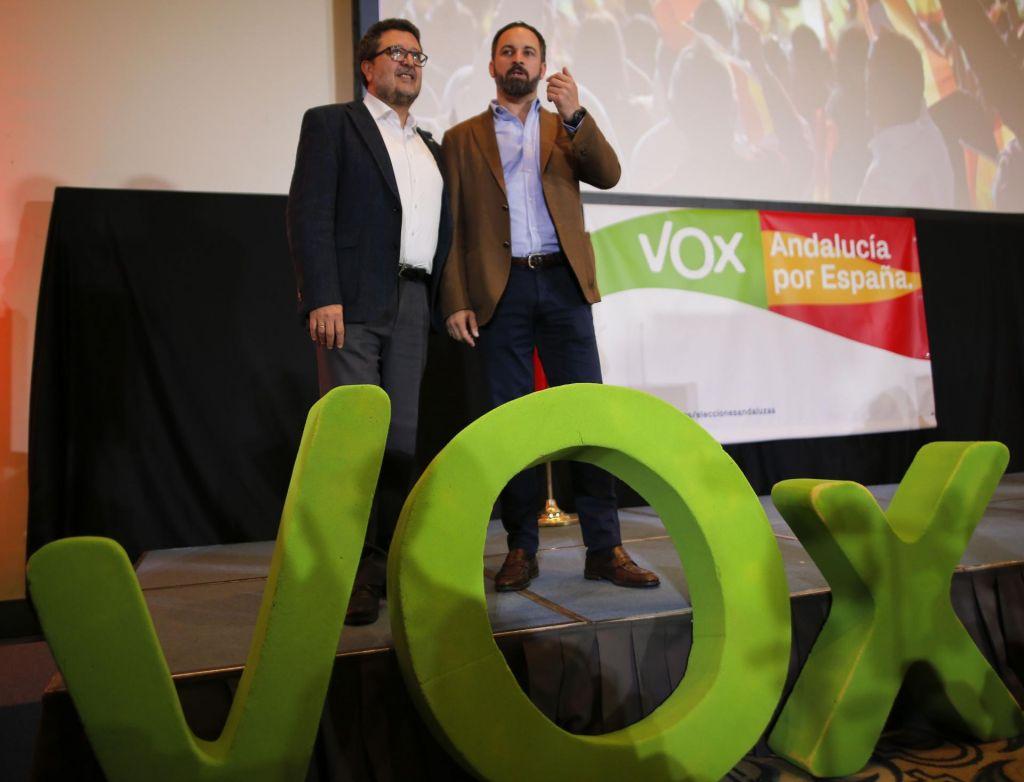 Skrajna desnica vstopa na španski politični parket