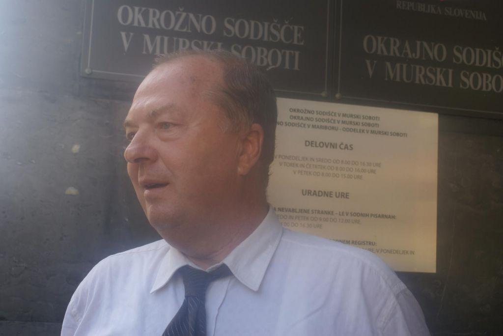 Poslovil se je donedavni vodja tožilstva v Murski Soboti Žarko Bejek