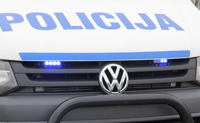 Policija se zahvaljuje občanu za informacije. FOTO: Špela Ankele