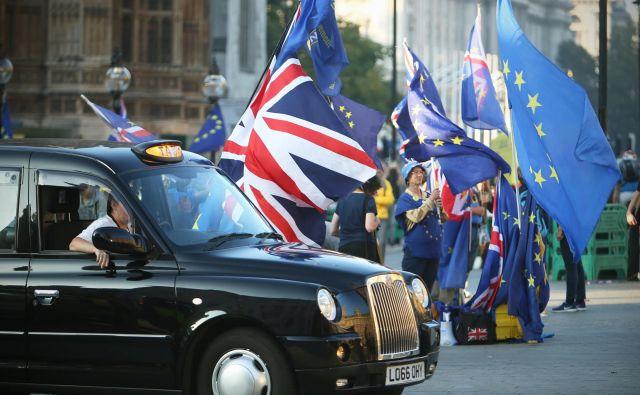 Nasprotniki brexita upajo, da bo Sodišče EU na koncu potrdilo njihovo domnevo, da lahko Združeno kraljestvo enostransko razveljavi odločitev o izstopu. FOTO: Jure Eržen