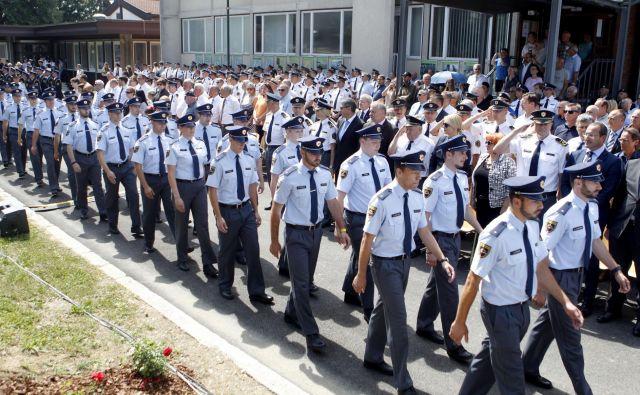 Slovenski policisti so sodelovali v mednarodni operaciji. FOTO: Roman Š�ipić