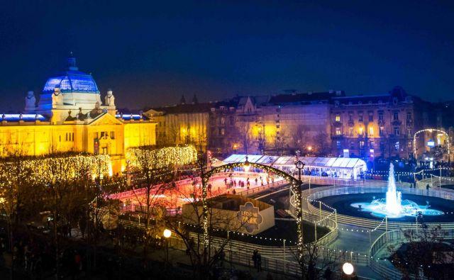 Zagrebški adventni sejem je lani obiskalo okoli 180.000 ljudi. FOTO: Zagrebška turistična organizacija