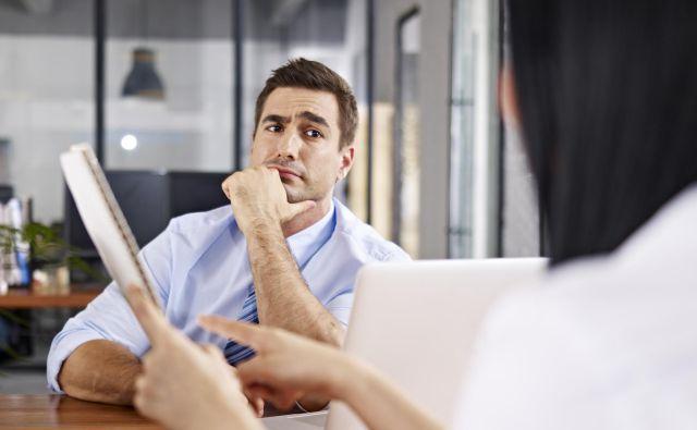 Pred srečanjem z nadrejenim je smiselno analizirati dosežke in premisliti o perspektivi delovnega mesta. FOTO: Shutterstock