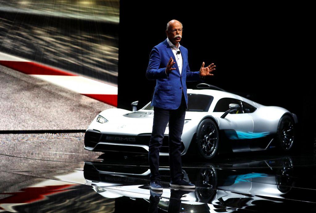 Šefi Daimlerja, Volkswagna in BMW v Beli hiši