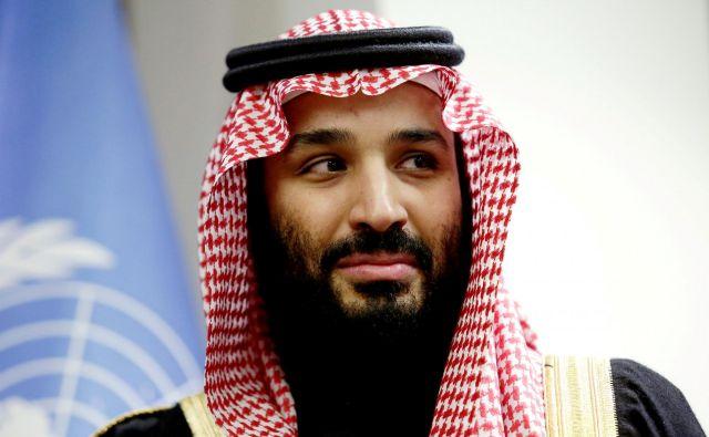 Savdski prestolonaslednik že dva tedna kroži po svetu. FOTO: Amir Levy/Reuters