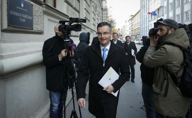 Vlada pod vodstvom Marjana Šarca bo, kot vse kaže, dobila dodatne državne sekretarje. FOTO: Matej Družnik/Delo