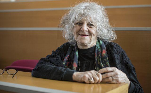 Ada Jonat je nobelovo nagrado dobila leta 2009 za dosežke v raziskovanju ribosomov. Foto Voranc Vogel