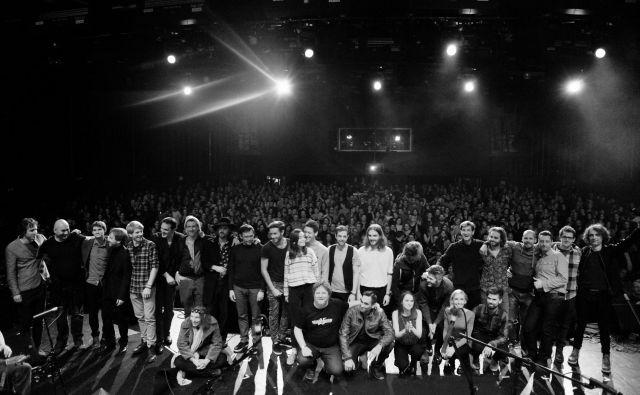 Izštekani 25, vsi nastopajoči.<br /> FOTO: Alan Orlič/Val 202