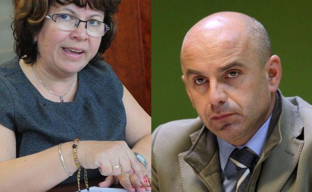 Zaradi nestrinjanja s potekom volitev sta ugovore na OVK posredovala oba županska kandidata. FOTO: Drago Perko, Blaž Samec