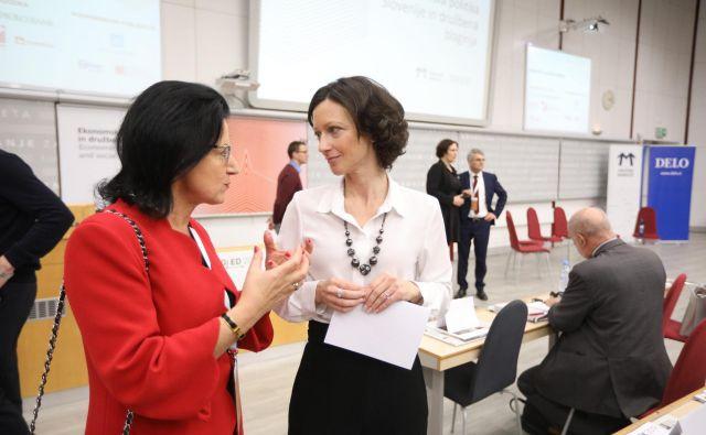 Kakšna je prihodnost ekonomske politike v Sloveniji? Foto Voranc Vogel/Delo