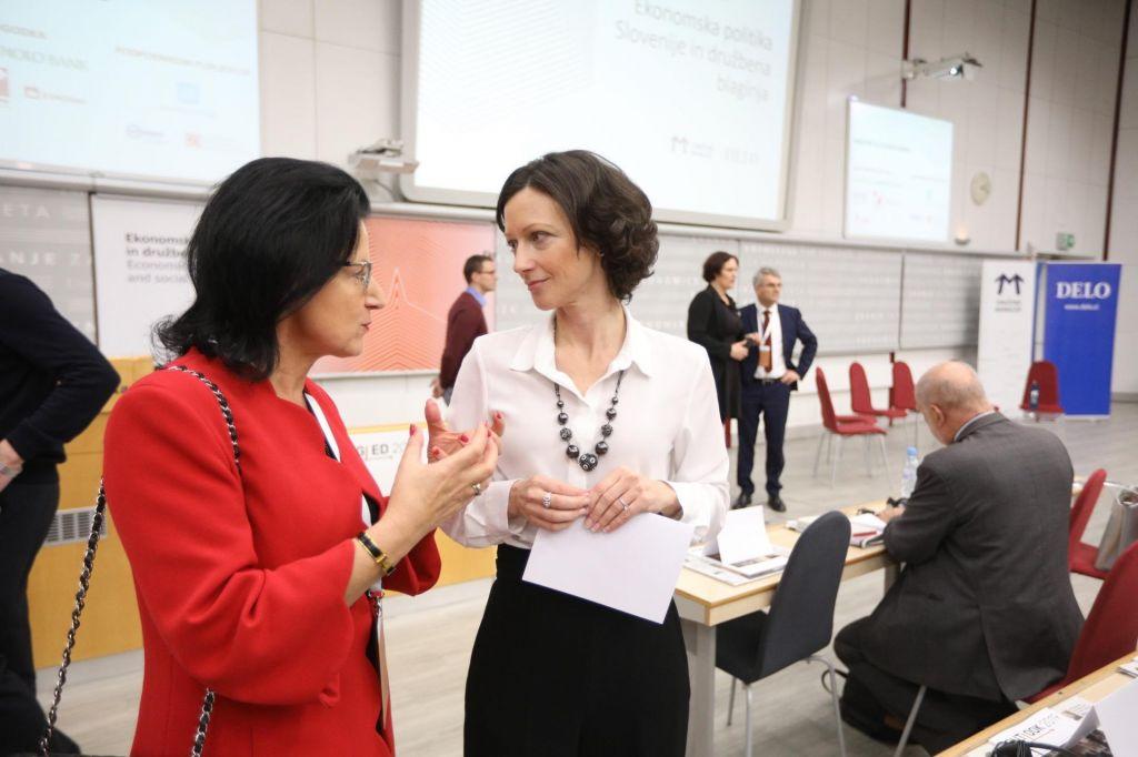 FOTO:Kakšna je prihodnost ekonomske politike v Sloveniji?
