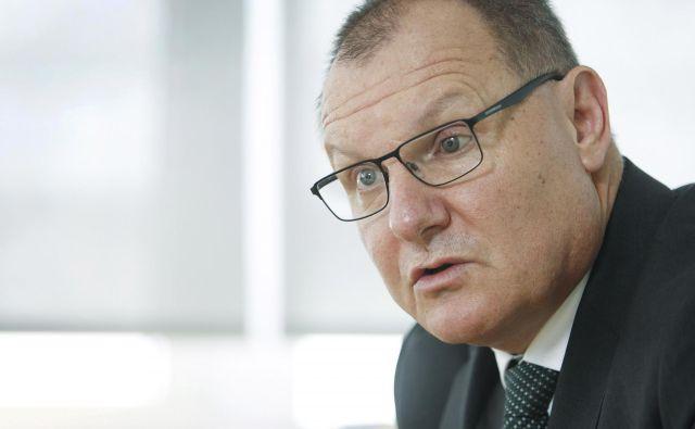 Miha Juhart ne bo več predsednik upravnega odbora DUTB. Foto Leon Vidic/Delo
