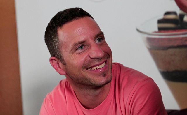 Rene Mlekuž je po koncu smučarske kariere skočil v poslovne vode, še vedno pa si ne more predstavljati življenja brez gibanja. FOTO: Dejan Javornik/Slovenske novice