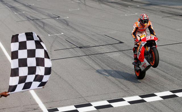 Marc Marquez se bo vrnil februarja na testiranjih v Maleziji. FOTO: Olivia Harris/Reuters