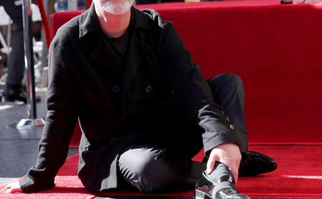 Režiser Ryan Murphy ob svoji zvezdi. FOTO: Reuters