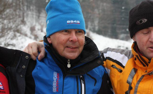 Matti Nykänen se je pred leti udeležil tudi veteranskega svetovnega prvenstva v Žireh. FOTO: Špela Žabkar