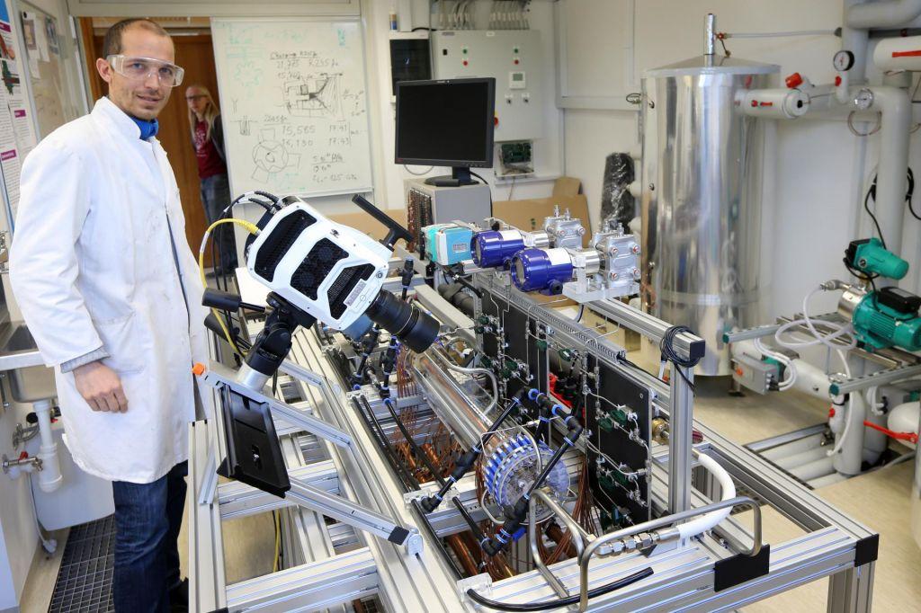 Nov laboratorij na odseku za reaktorsko tehniko