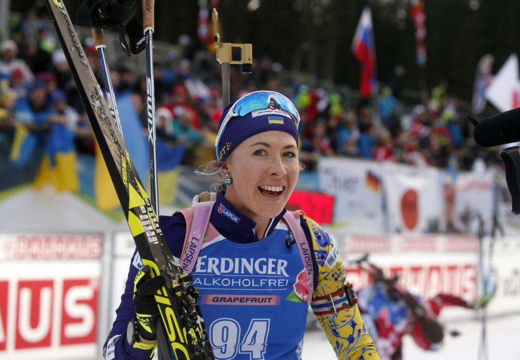 FOTO:Zmagala Velepčeva varovanka, Slovenke pa žal v ozadju