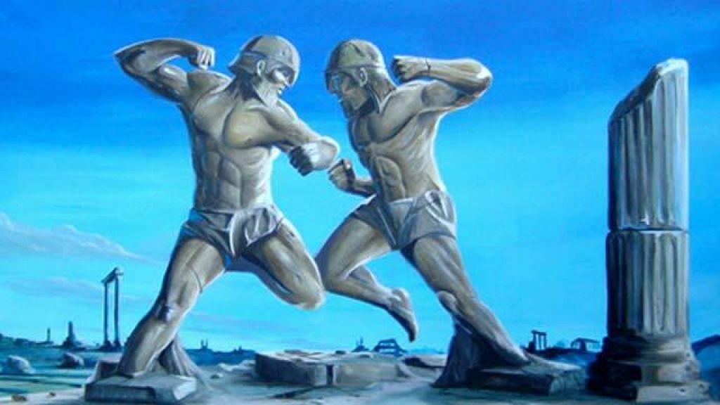 Zgodovina borilnih veščin